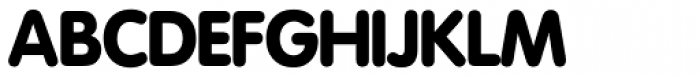 Futura SH Round Font UPPERCASE