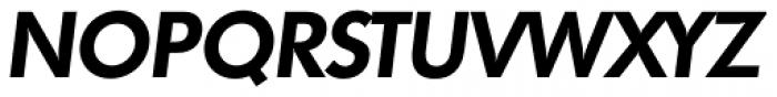 Futura TS DemiBold Italic Font UPPERCASE