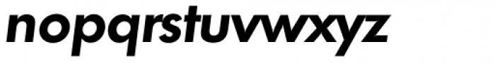 Futura TS DemiBold Italic Font LOWERCASE