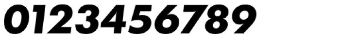 Futura TS ExtraBold Italic Font OTHER CHARS