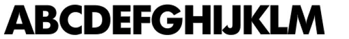 Futura TS ExtraBold Font UPPERCASE