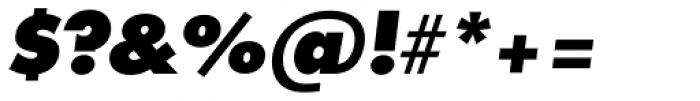 Futura TS Heavy Italic Font OTHER CHARS