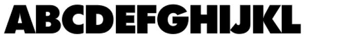 Futura TS Heavy Font UPPERCASE