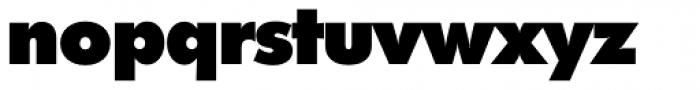 Futura TS Heavy Font LOWERCASE
