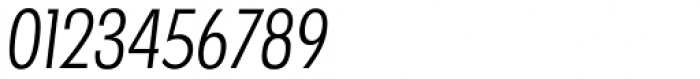 Futura TS Light Cond Italic Font OTHER CHARS