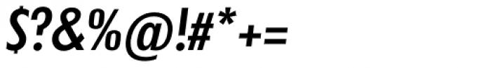 Futura TS Medium Cond Italic Font OTHER CHARS