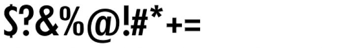 Futura TS Medium Cond Font OTHER CHARS