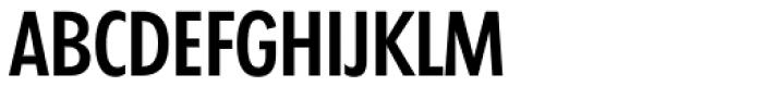 Futura TS Medium Cond Font UPPERCASE