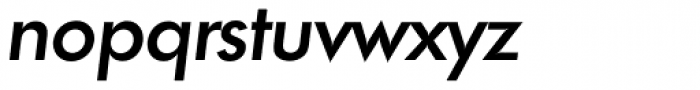 Futura TS Medium Italic Font LOWERCASE