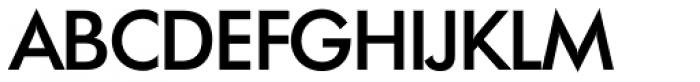 Futura TS Medium Font UPPERCASE