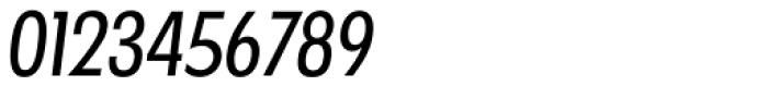 Futura TS Regular Cond Italic Font OTHER CHARS