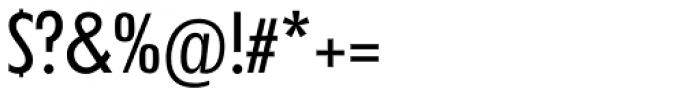 Futura TS Regular Cond Font OTHER CHARS