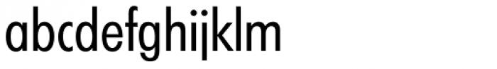 Futura TS Regular Cond Font LOWERCASE