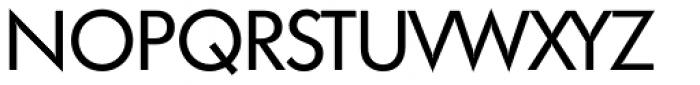 Futura TS Regular Font UPPERCASE