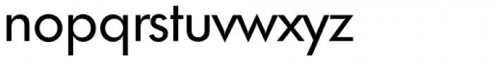 Futura TS Regular Font LOWERCASE