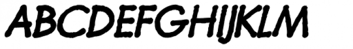 Futuramano Bold Italic Font UPPERCASE