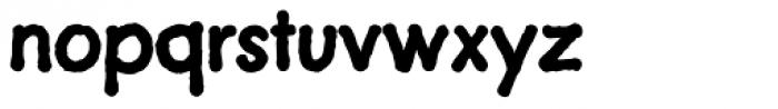 Futuramano Bold Font LOWERCASE