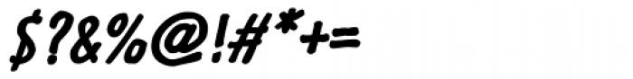 Futuramano Cond Bold Italic Font OTHER CHARS
