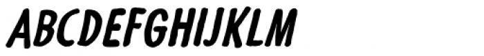 Futuramano Cond Bold Italic Font UPPERCASE