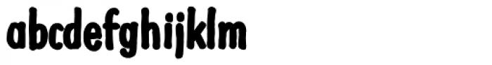Futuramano Cond ExtraBold Font LOWERCASE