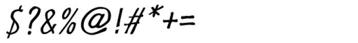 Futuramano Cond Light Italic Font OTHER CHARS
