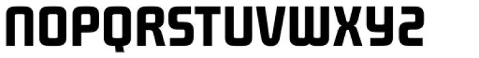 Future Bugler Upright Bold Font UPPERCASE