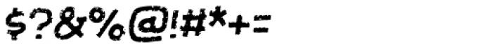 Futureboy Italic Font OTHER CHARS