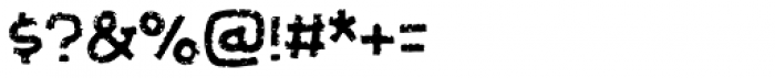 Futureboy Regular Font OTHER CHARS