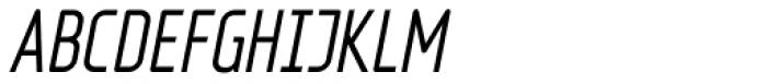 Fux Italic Font UPPERCASE