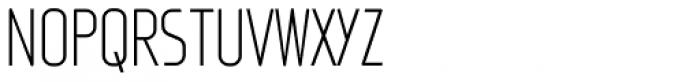 Fux Light Font UPPERCASE