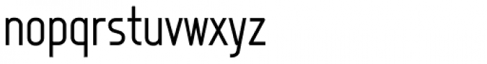 Fux Font LOWERCASE
