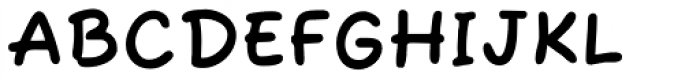 Fuzzy Bubbles ROB Bold Font UPPERCASE