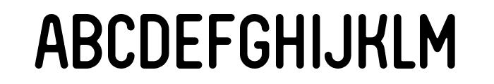 FV Almelo Regular Font UPPERCASE