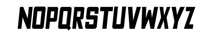Fyodor Bold Condensed Oblique Font UPPERCASE