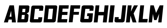 Fyodor Bold Oblique Font UPPERCASE