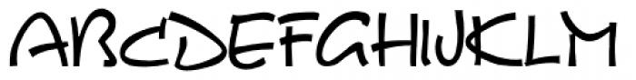 FZ Ka Tong M 19 GB/T 12345 Font UPPERCASE