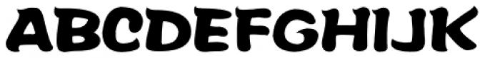 FZ Pang Wa M 18 GB/T 12345 Font UPPERCASE