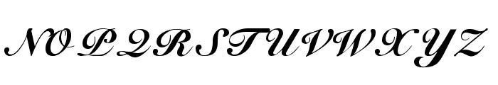 G-Unit Font UPPERCASE