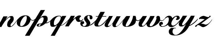 G-Unit Font LOWERCASE