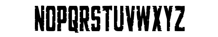 G.I. Incognito Condensed Font UPPERCASE