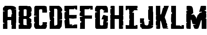 G.I. Incognito Expanded Font UPPERCASE