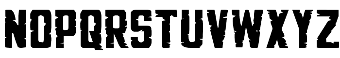 G.I. Incognito Expanded Font LOWERCASE