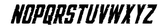 G.I. Incognito Italic Font LOWERCASE