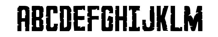 G.I. Incognito Regular Font UPPERCASE