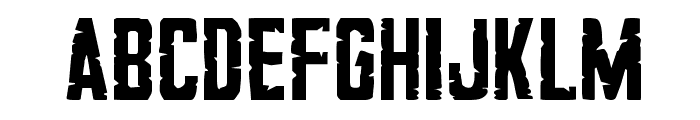 G.I. Incognito Regular Font LOWERCASE