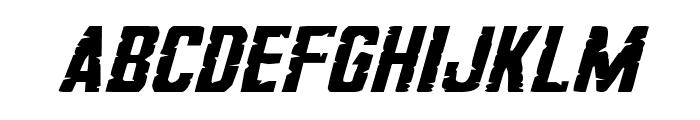 G.I. Incognito Small Italic Font LOWERCASE
