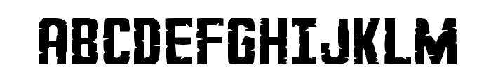 G.I. Incognito Small Regular Font UPPERCASE