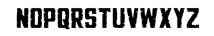 G.I. Incognito Small Regular Font LOWERCASE