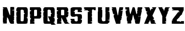 G.I. Incognito Squat Font UPPERCASE