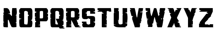 G.I. Incognito Squat Font LOWERCASE